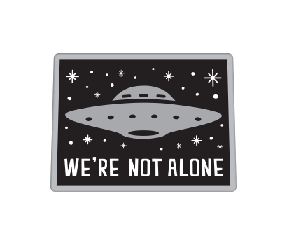 We Are Not Alone UFO - D-WANA