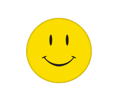 Yellow Happy Face - D-YLSM
