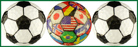 Soccer w/ International Flags - SOCR