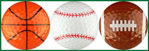 Basketball, Baseball & Football Variety - SPRT1