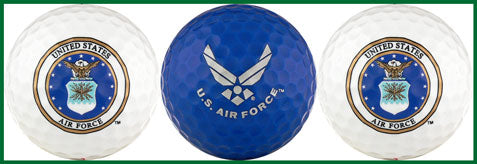 US Air Force Golf Balls - USAF