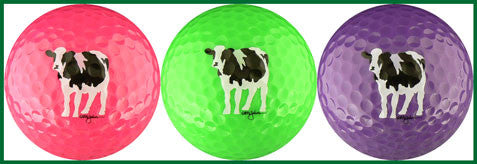 Woody's Cows (Pink, Green & Purple) - COWBR