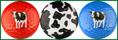 Woody's Cows (Red, Spots & Blue) - CSPOT