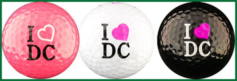 I Love DC w/ Pink Heart - DCPK