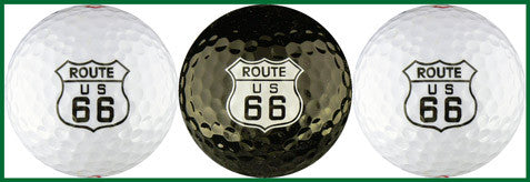 Route 66 Logo w/ Black Ball Variety - RT66