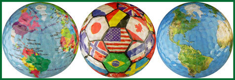 World Collection - Globe, Flags & Earth - WRLD