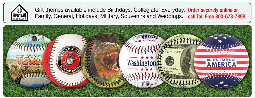 EnjoyLife Inc Gift Souvenir Themed Baseballs