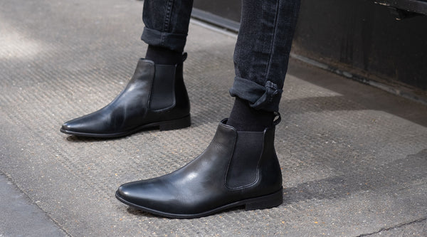 How To Wear Black Chelsea Boots