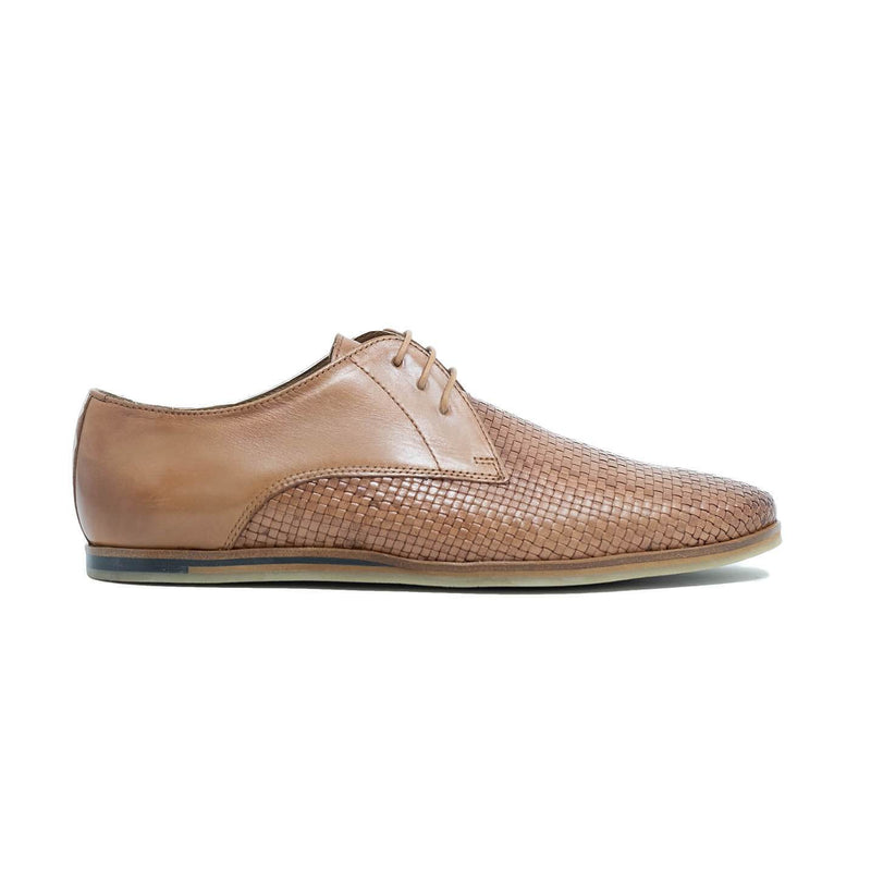 Woven Leather Derby Shoe
