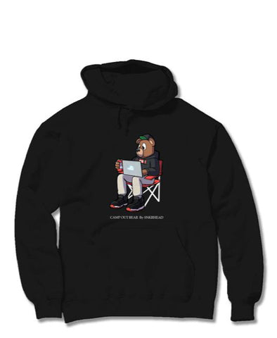 Snkrheadnyc  Camp Out Bear Hoodie - RIME
