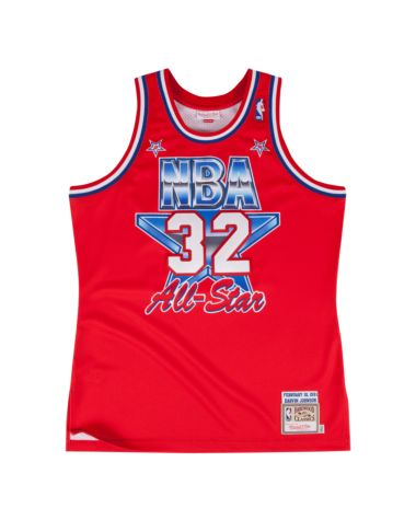 "MITCHELL & NESS ""MAGIC JOHNSON"" 1991 ALL-STAR JERSEY - RIME"