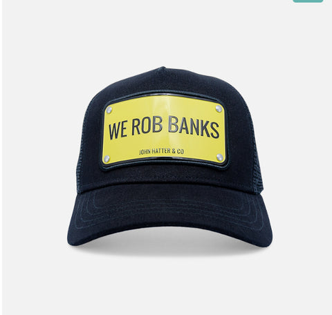 We Rob Banks Caps