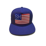 SNKR HEAD Flag Hat (Snapback) - RIME