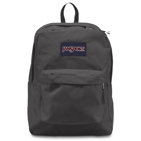 "JANSPORT SUPERBREAK BACKPACK - "" FORGE GREY"" - RIME"