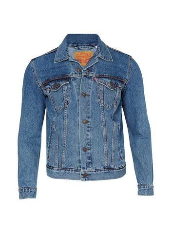 LEVI'S MEN'S DENIM JACKET - STONEWASH