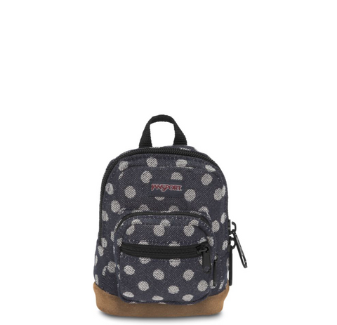 JANSPORT Right Pouch - NAVY TWIGGY DOT JACQUARD