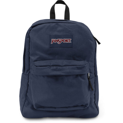 "JANSPORT SUPERBREAK BACKPACK - ""NAVY"" - RIME"