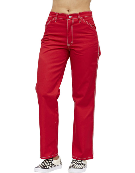 DICKIES -RELAXED FIT CARPENTER PANTS [CP20RED] - RIME