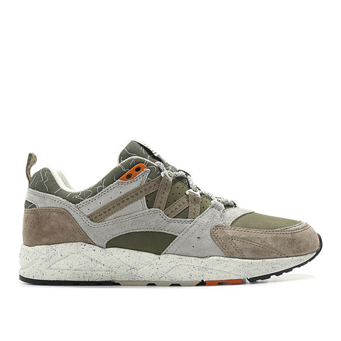 KARHU FUSION 2.0 'MOUNT SAANA 2' (BROWN / OLIVE / OFF-WHITE) - RIME