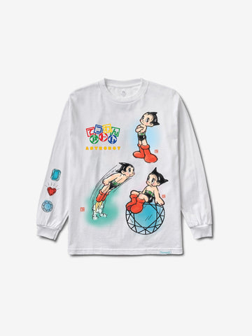 DIAMOND SUPPLY - DMND X ASTRO BOY COSMIC RANGER L/S TEE [B19DMPC503SWHT] - RIME