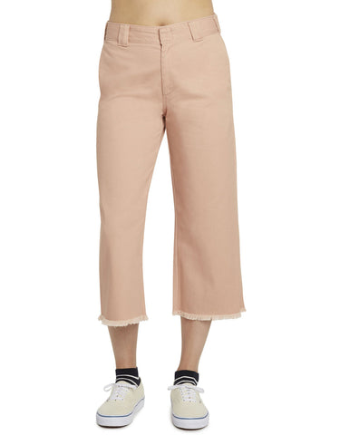 DICKIES - WORK CROP FRAY HEM PANT  [J5002OTBHV] - RIME