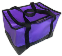Womens custom purple campdraft horse barrel racing gear bag
