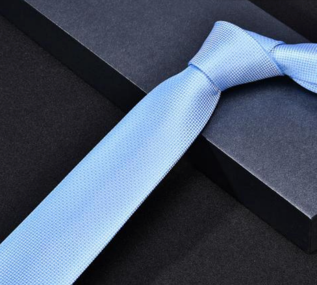 "Zegami Men Tie ""Light Blue"""