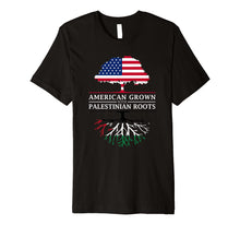 Load image into Gallery viewer, American Grown with Palestinian Roots - Palestine T-Shirt