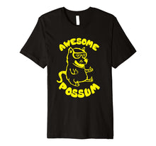 Load image into Gallery viewer, Awesome Possum Graphic Premium Shirt Funny Possum T-Shirt