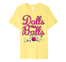 Load image into Gallery viewer, Dolls With Balls, Matching Bowling Team Name For Women