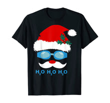 Load image into Gallery viewer, Santa Swimming h2o h2o h2o T-Shirt