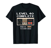 Load image into Gallery viewer, Level 40 Complete Shirt - 1979 40th Birthday Gift