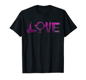 Cool Hairstylist Love T-Shirt - Cute Gift for Hairdresser
