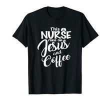 Load image into Gallery viewer, Christian Nurse Mom Tshirt Funny Mothers Day Gift T-Shirt