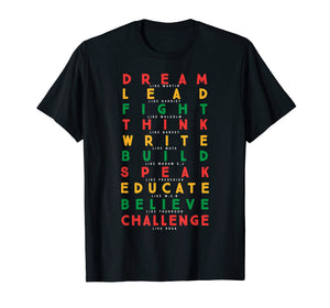 Black History Month African American Country 2019 T-Shirt