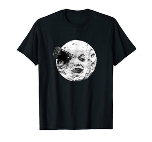 A Trip To The Moon Georges Melies Silent Movie T Shirt