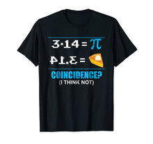 Load image into Gallery viewer, Pi Day 2018 March 14th Funny Pie Style Tshirt for Math Geeks