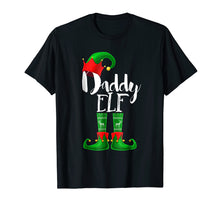Load image into Gallery viewer, Mens Daddy Elf Matching Family Christmas Pajama Shirt Gift Men