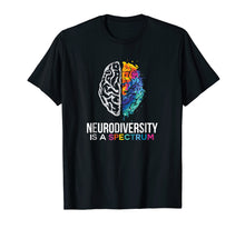 Load image into Gallery viewer, Neurodiversity Is A Spectrum TShirt For ASD, ADHD,Tourette's