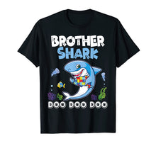 Load image into Gallery viewer, Lovely Fishes Swimming In The Sea Shirt Brother Autism Shark