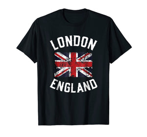 London England Britain Flag United Kingdom Union Jack TShirt