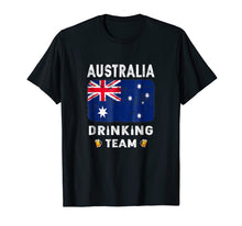 Load image into Gallery viewer, Australia Drinking Team Country Alcohol Beer T Shirt