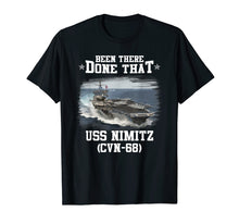 Load image into Gallery viewer, USS Nimitz CVN-68 T-Shirt