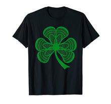 Load image into Gallery viewer, Shamrock Lacrosse T Shirt lucky Lacrosse Tee