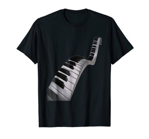 Abstract Piano Keys T-Shirt