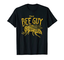 Load image into Gallery viewer, Mens Beekeeper Shirt - The Bee Guy Beekeeping Honey Bee Graphic