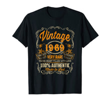 Load image into Gallery viewer, Vintage 1969 Heart Filled Love 50th Birthday T-Shirt Gift