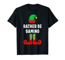 Load image into Gallery viewer, Matching Christmas Pajamas Gaming Elf Gift T-Shirt