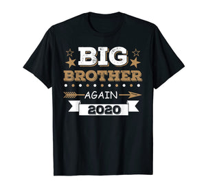 Promoted to Big Brother Again 2020 Vintage Arrow T-Shirt