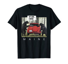 Load image into Gallery viewer, Bears Say Look A Menu Tee T-Shirt